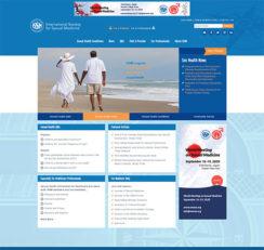 International Society of Sexual Medicine website homepage