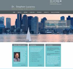 Dr. Stephen Lazarou website homepage